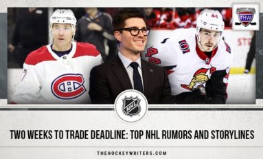 Two Weeks to Trade Deadline: Top NHL Rumors and Storylines