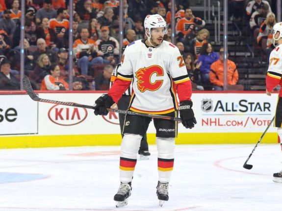 Travis Hamonic Calgary Flames
