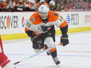 The young Konecny has given the Flyers the forward depth a much needed shot in the arm. (Amy Irvin / The Hockey Writers)