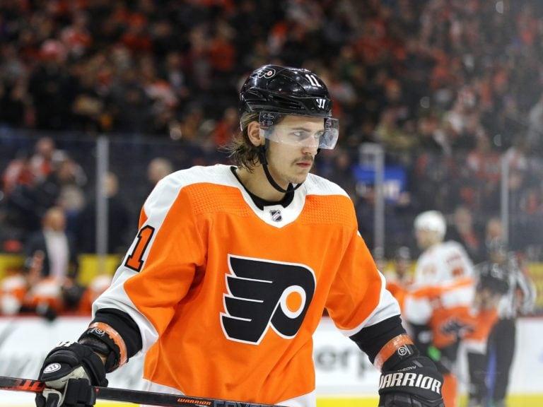 Travis Konecny Philadelphia Flyers