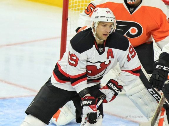 Devils forward, Travis Zajac