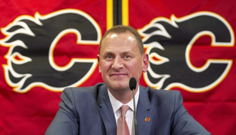 Calgary Flames general manager Brad Treliving