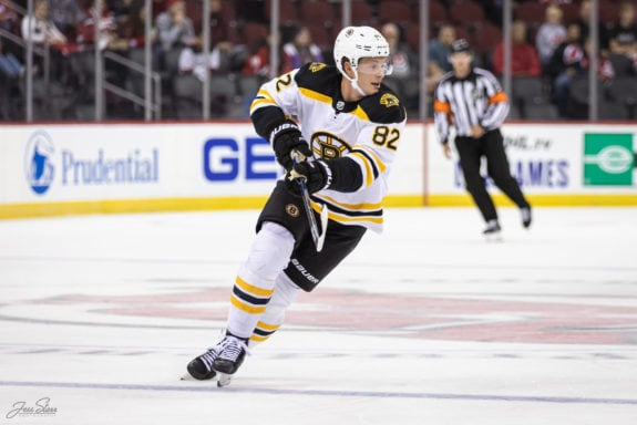 Trent Frederic Boston Bruins