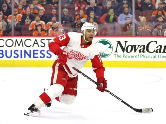 Trevor Daley of the Detroit Red Wings