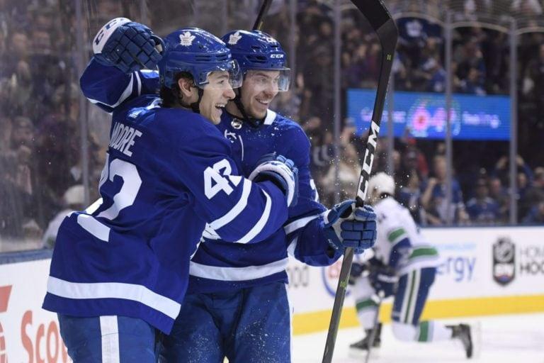 Toronto Maple Leafs Trevor Moore Par Lindholm