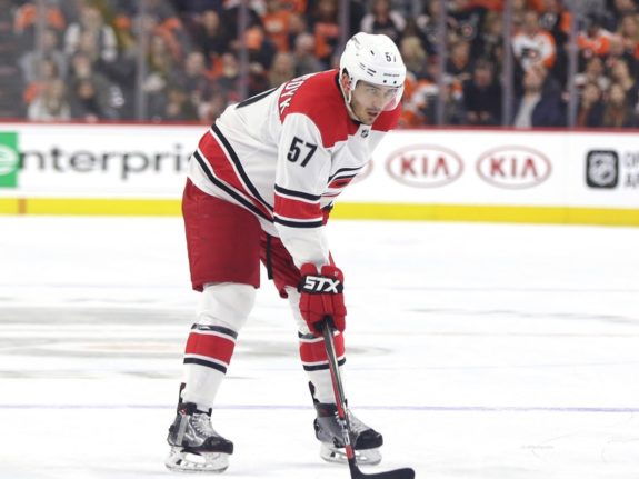 Trevor van Riemsdyk, Carolina Hurricanes, Expansion Draft