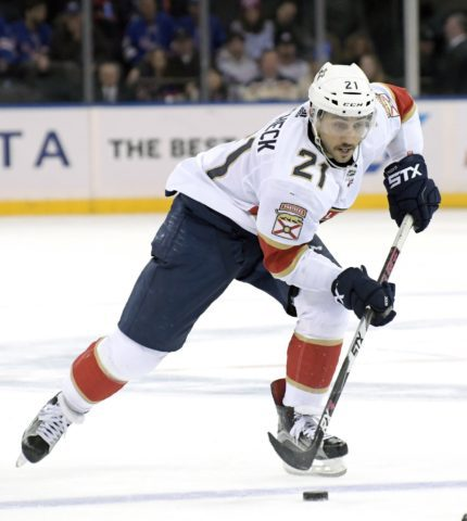 Florida Panthers Vincent Trocheck