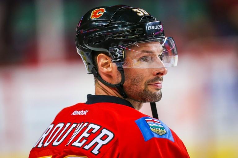Troy Brouwer, Calgary Flames