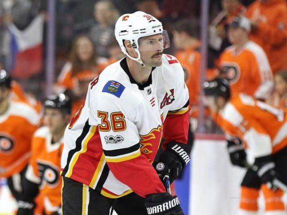Troy Brouwer Calgary Flames