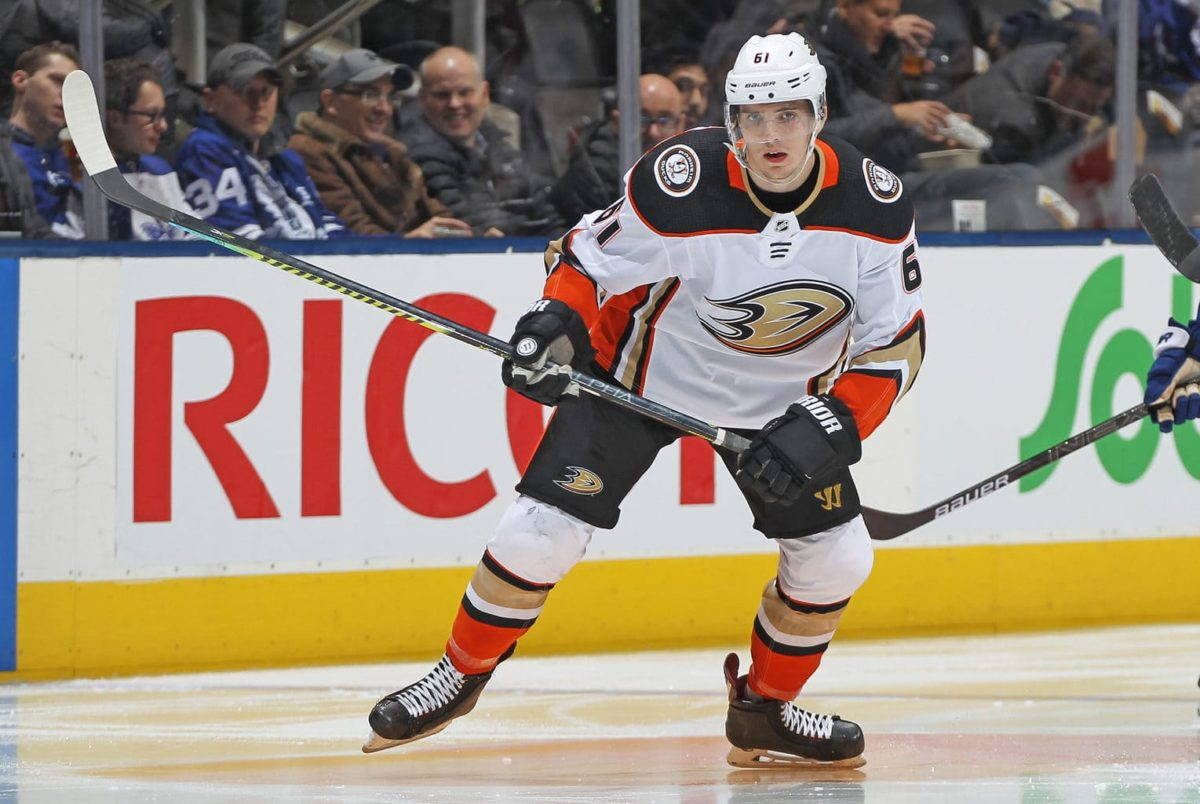 Troy Terry Anaheim Ducks