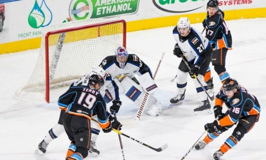 The Colorado Eagles Put on a Show