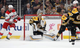 Bruins Take Game 1 at Home Against Hurricanes