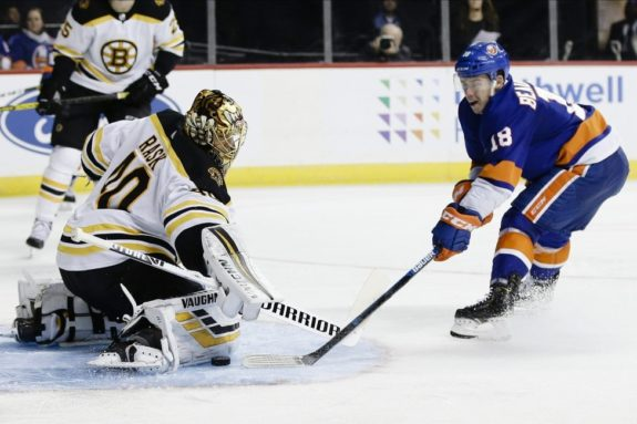 Boston Bruins Tuukka Rask New York Islanders Anthony Beauvillier