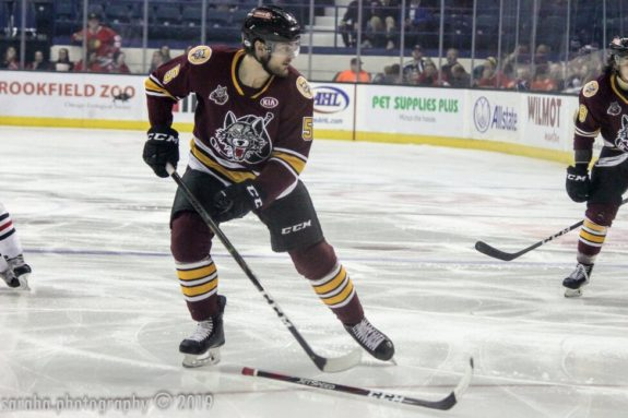 Tye McGinn Chicago Wolves
