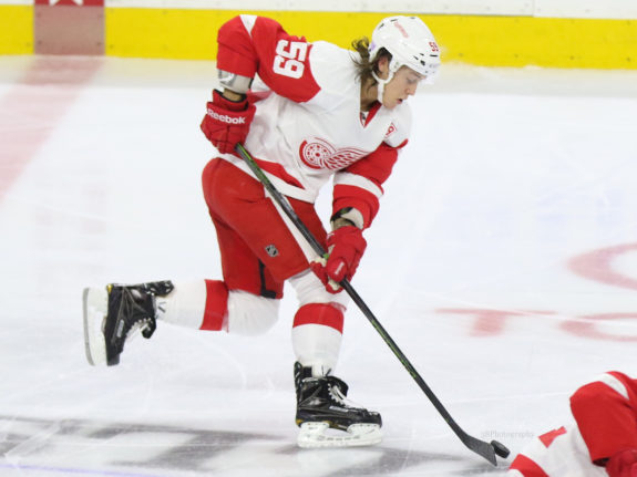 Tyler Bertuzzi Detroit Red Wings