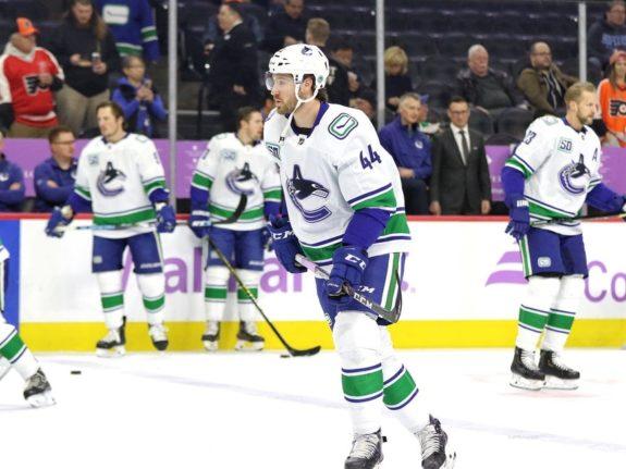 Tyler Graovac Vancouver Canucks