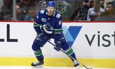 Vancouver Canucks Re-Sign Tyler Motte to Two-Year Extension