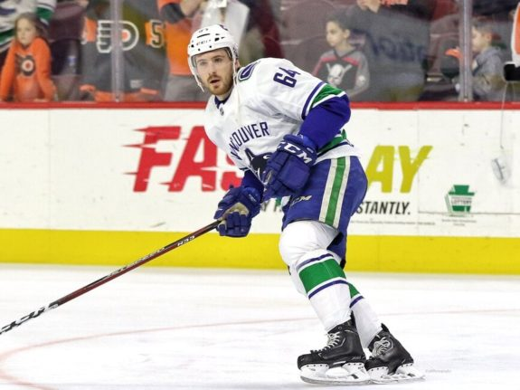 Tyler Motte Vancouver Canucks