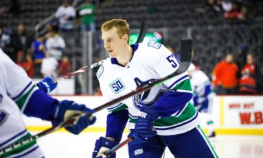 Canucks Have Options & Depth With Myers Back in the Lineup