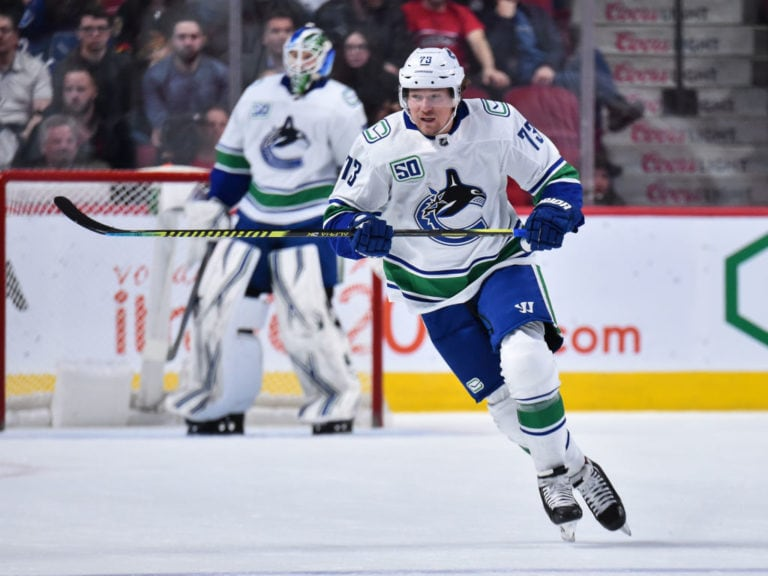 Tyler Toffoli Vancouver Canucks
