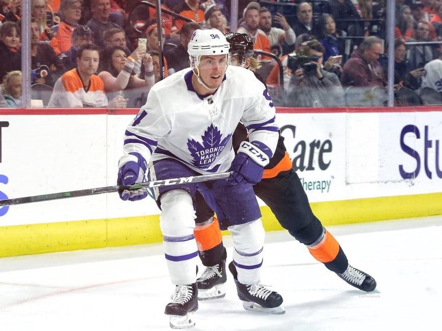 Tyson Barrie Toronto Maple Leafs