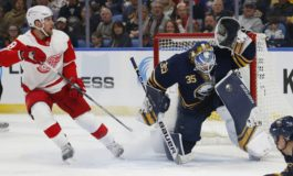 Sabres Power Past Red Wings - Ullmark Shines