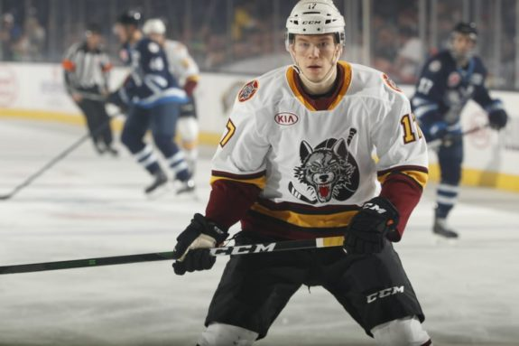 Valentin Zykov Chicago Wolves