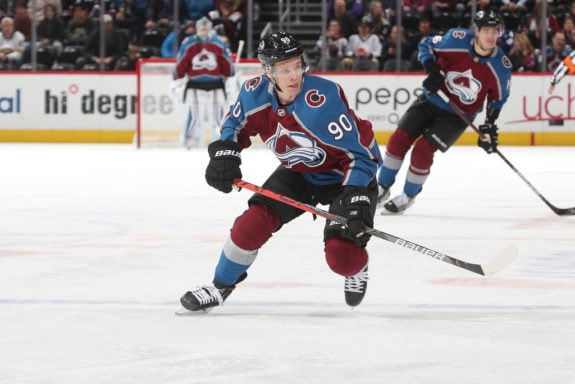 Valeri Namestnikov Colorado Avalanche