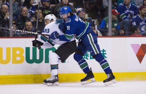Vancouver Canucks Zack MacEwen