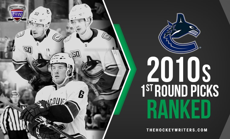 Vancouver Canucks 2010s First-Round Picks Ranked