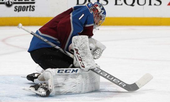 Avalanche Blank Golden Knights - Varlamov Gets Shutout