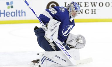 Lightning Score Late to Top Hurricanes