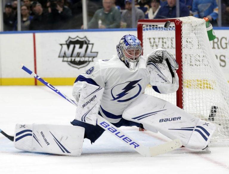 Tampa Bay Lightning Andrei Vasilevskiy