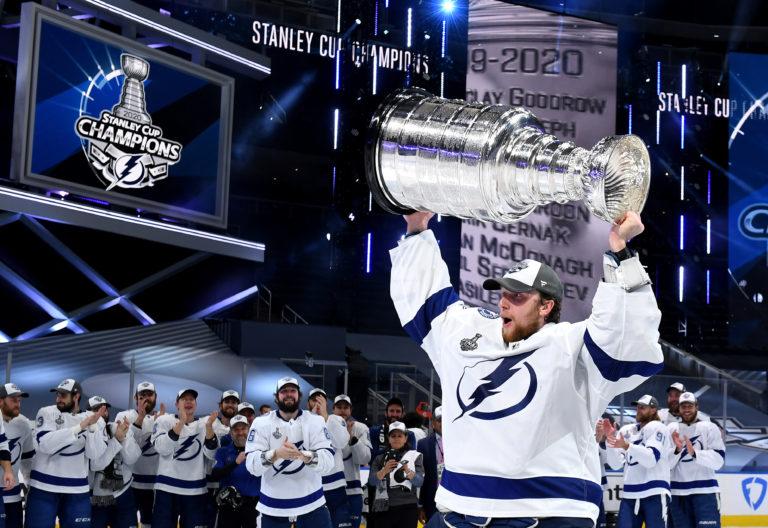 Andrei Vasilevskiy Tampa Bay Lightning 2020 Stanley Cup