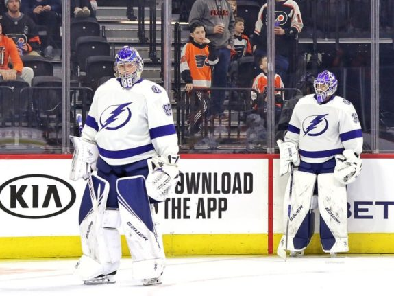 Andrei Vasilevskiy Curtis McElhinney Tampa Bay Lightning