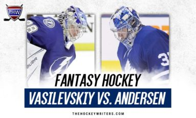 Fantasy Faceoff: Andrei Vasilevskiy vs. Frederik Andersen