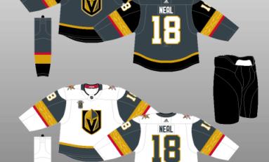 Vegas Golden Knights Jersey History