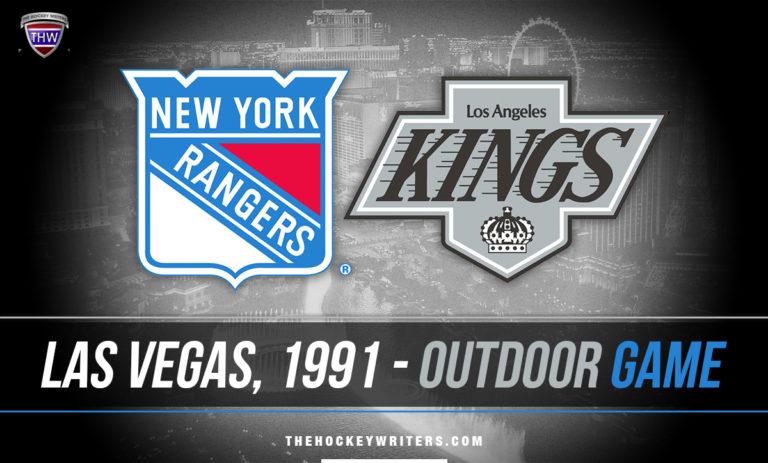 Las Vegas 1991: Revisitng the New York Rangers & Los Angeles Kings Outdoors game