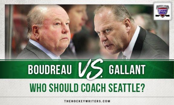 Boudreau vs. Gallant - Who Should Coach Seattle