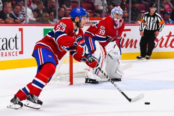 Montreal Canadiens defenceman Victor Mete -