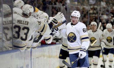 Olofsson's Golden Touch Fuels Sabres' Power Play