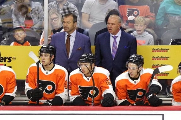 Alain Vigneault Michel Therrien Philadelphia Flyers