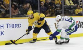 Preds' Viktor Arvidsson out 4-6 Weeks with Lower Body Injury