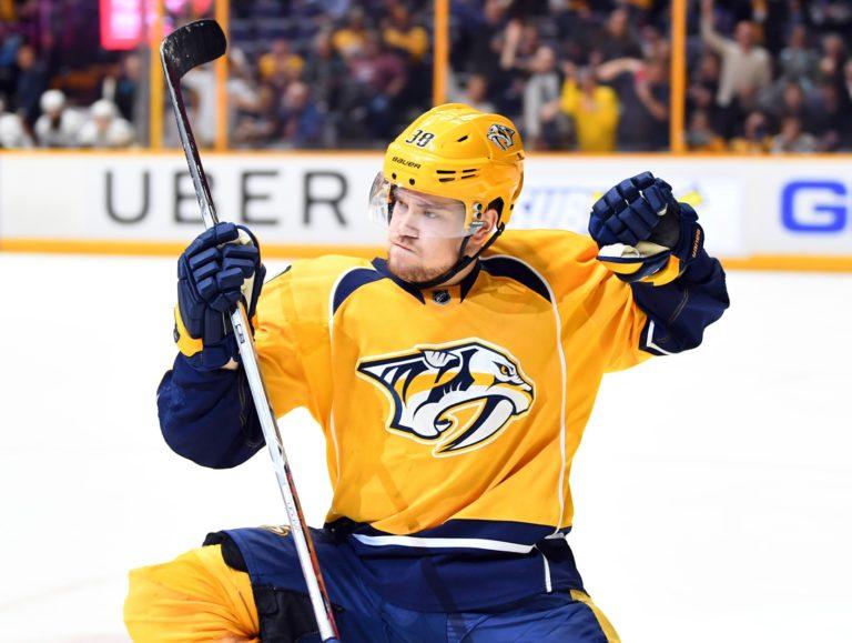 Viktor Arvidsson, Predators