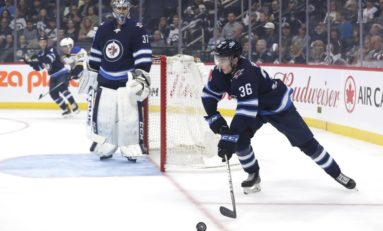 Heinola Not the First Jet to Hit Scoresheet in NHL Debut
