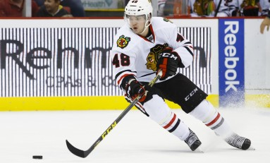 Recap: Blackhawks Win 5th Straight, Drown Sharks