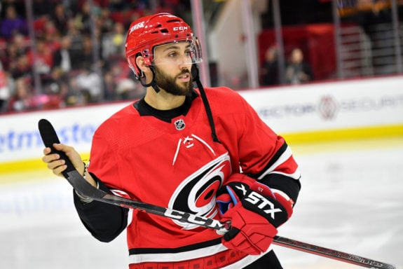Vincent Trocheck Carolina Hurricanes