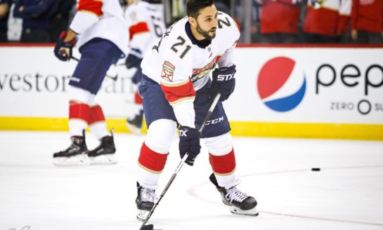 Trocheck's Shootout Goal Gives Panthers 3-2 Win over Predators