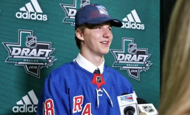 Rangers Top Prospect Kravtsov Thriving With Traktor