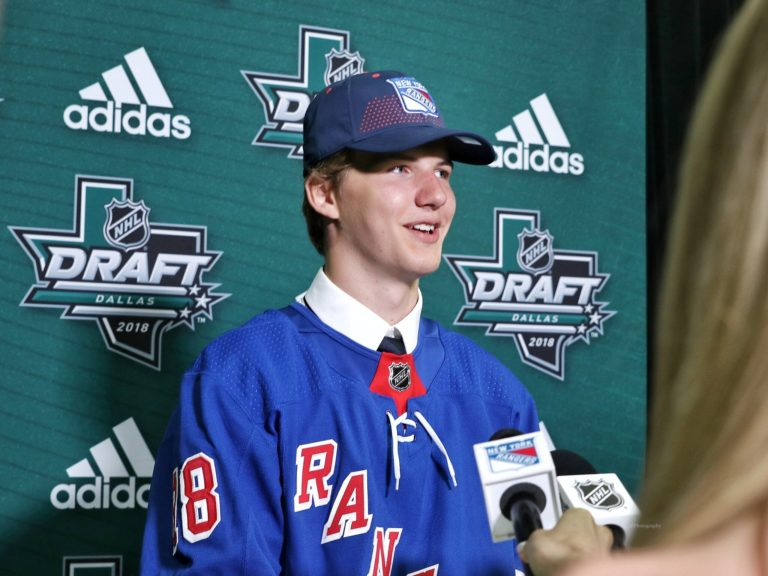 Vitali Kravtsov New York Rangers Draft